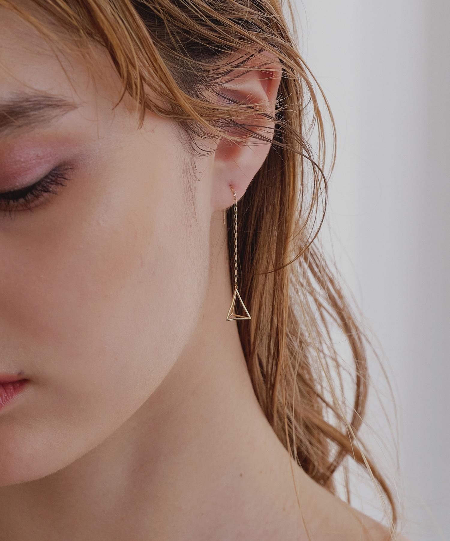 【予約】tetrahedronピアス