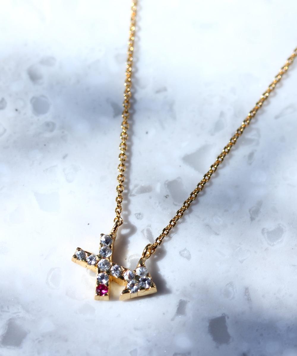 【WEB限定】zodiac signネックレス(sagittarius/射手座)