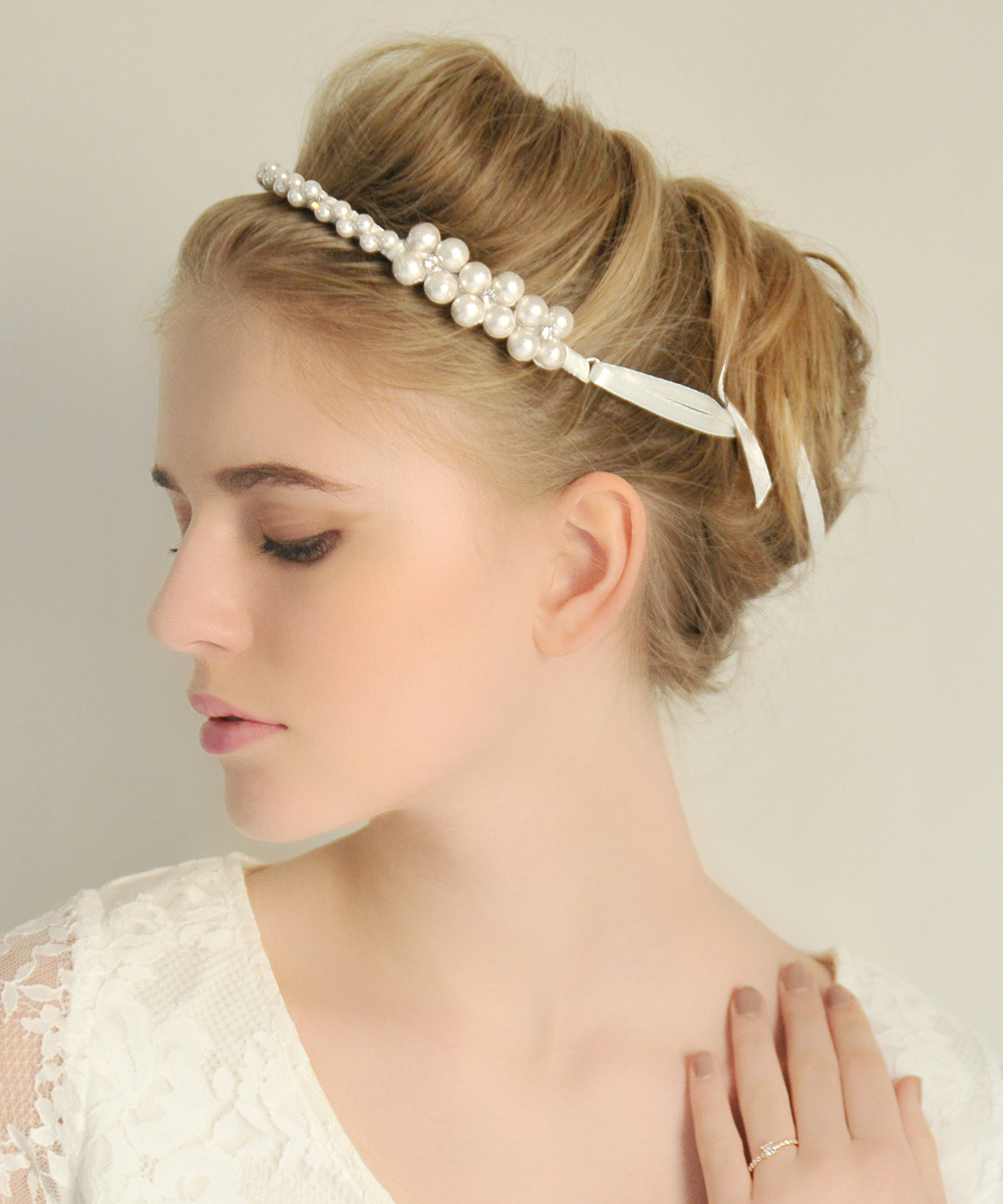 arc blanc ヘッドドレス