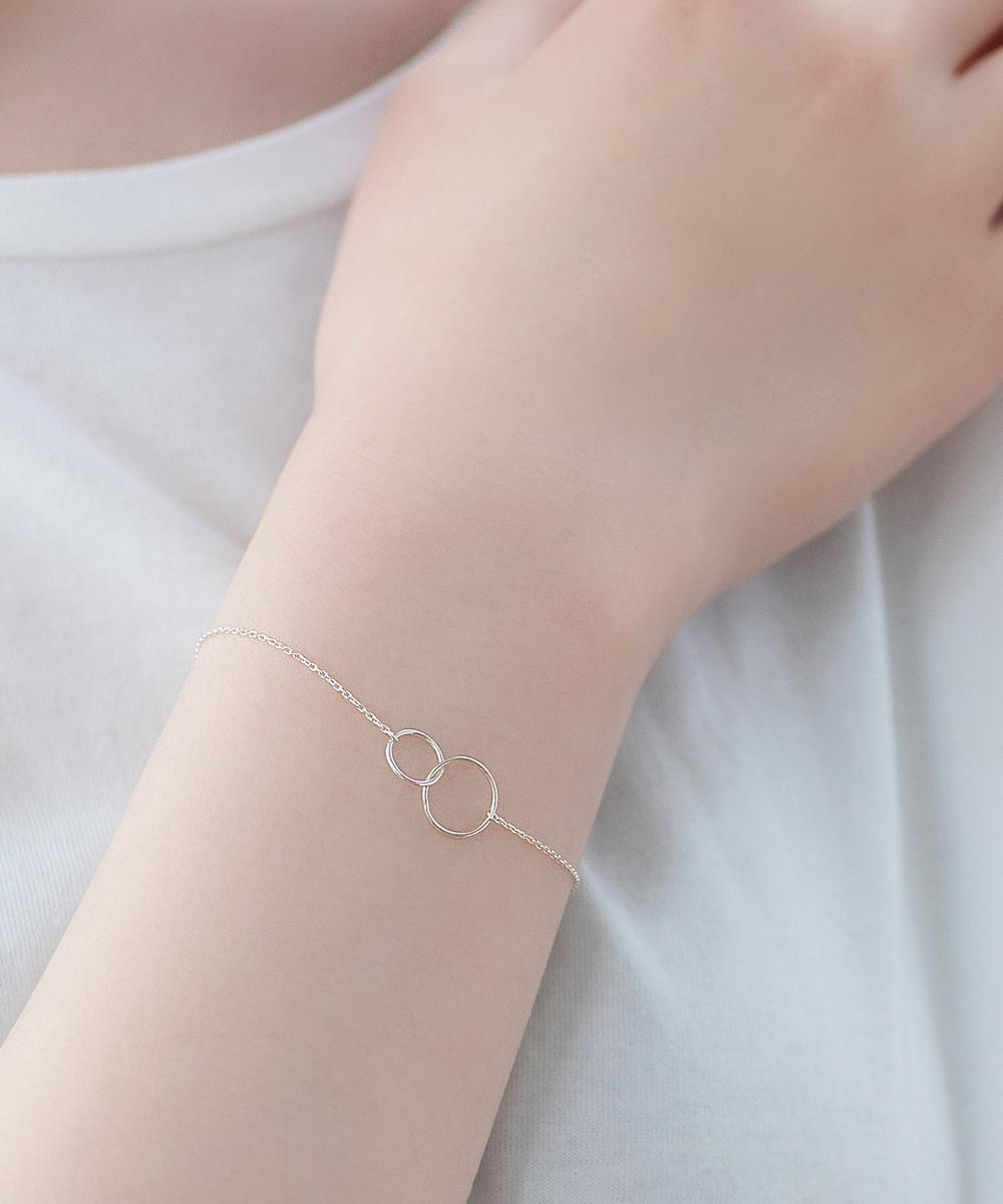 【SV925】コネクトリングブレスレット