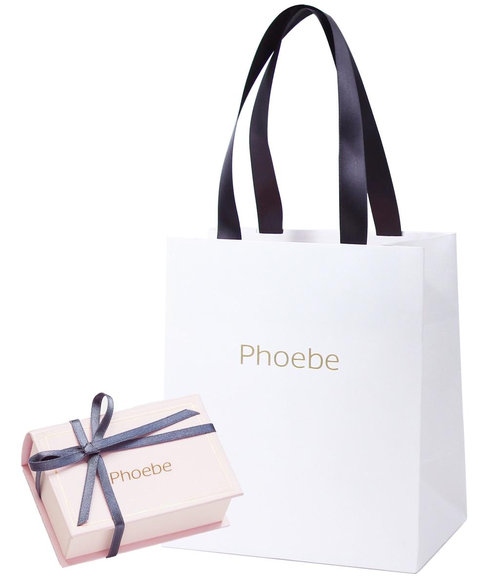【Phoebe】限定デザインギフトパッケージ(ショッパー&ジュエリーボックス)