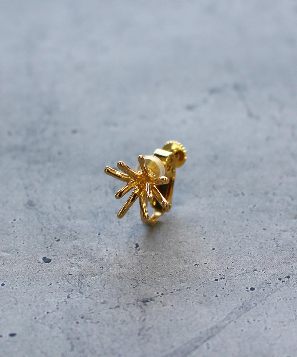 【予約】【片耳】spark SSイヤリング gold