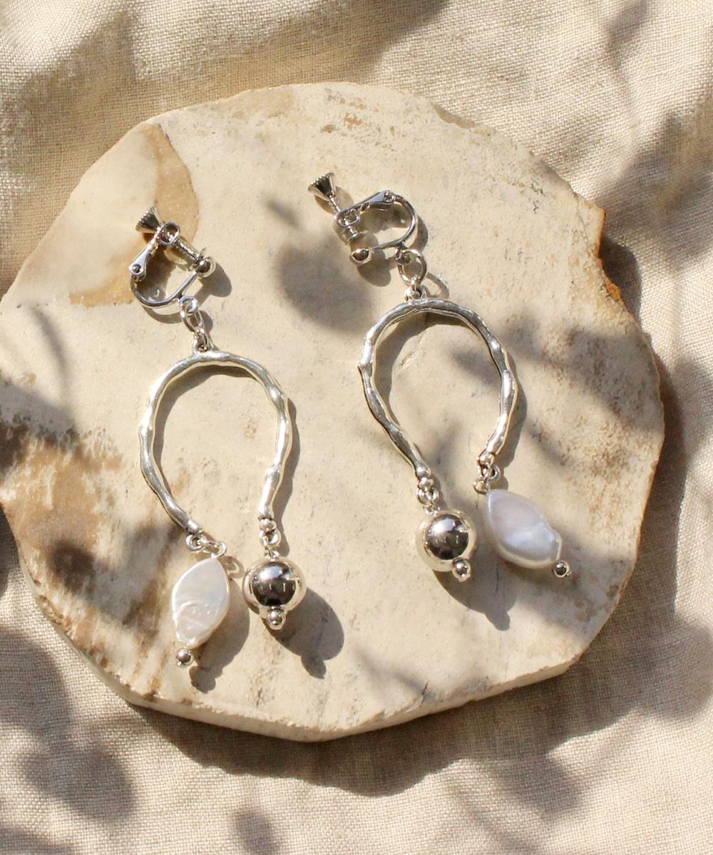 【sfy】baroque perl silver イヤリング