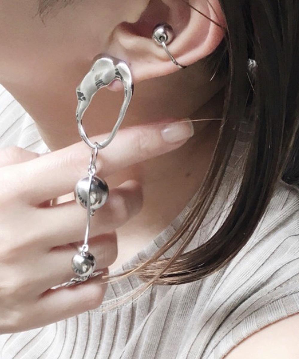 【sfy】silver ornament ピアス