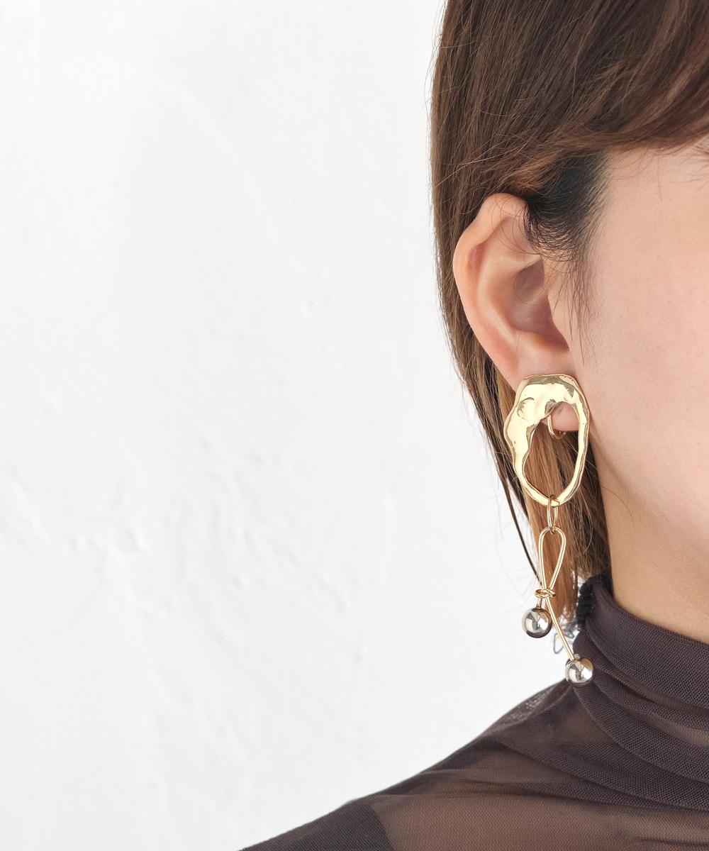 【sfy】gold ornament イヤリング